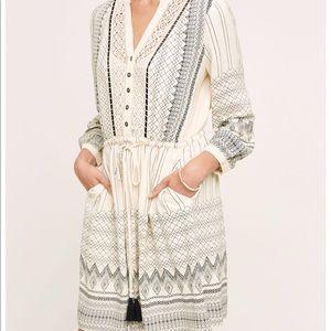 Anthropologie Floreat Perrie Dress